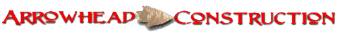 Arrowhead Construction Logo